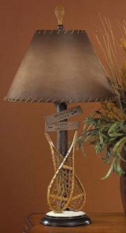 Snow Shoe Lamp