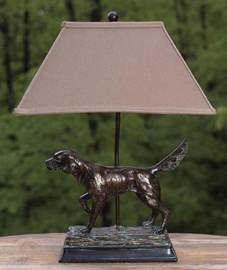 Hunting Dog Lamp