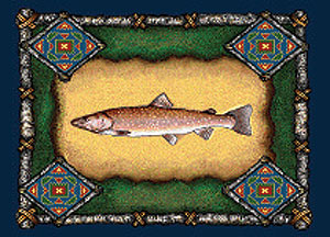 Lodge Fish Place Mat