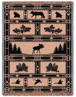 Woodland Scene Throw