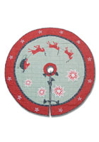 North Pole Fishing Tales Tree Skirt