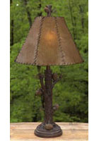 Pinecone Table Lamp