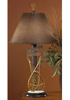 Snow Shoe Lamp