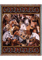 Bridled Horses