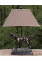 Hunting Dog Lamp