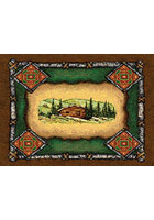 Lodge Cabin Place Mat