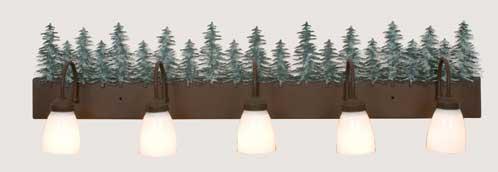 Trees Vanity Light