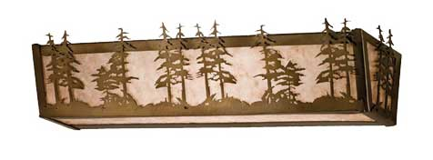 Tall Pines Vanity Light