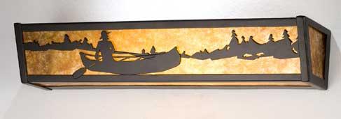 Canoe Vanity Light