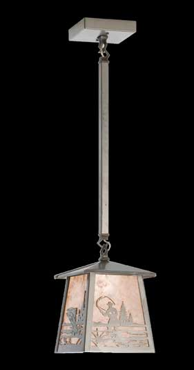 Single Fisherman Pendant Light