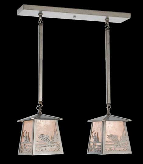 Double Fisherman Pendant Light
