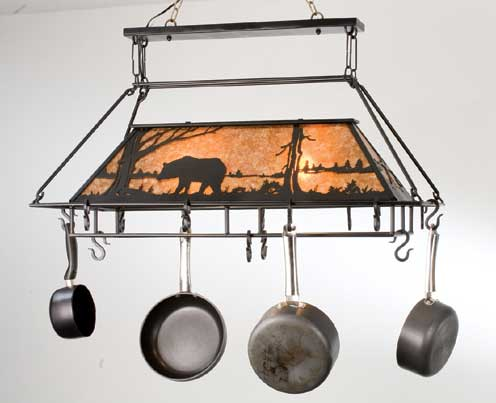 Black Bear Pot Rack