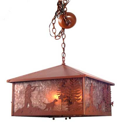 Quail Hunter Pendant Light