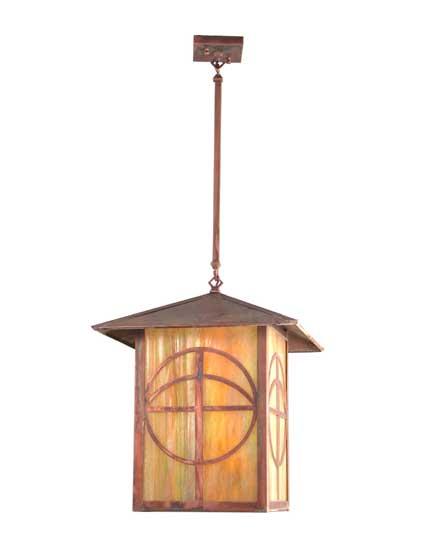 Circle Cross Outdoor Lantern/Pendant