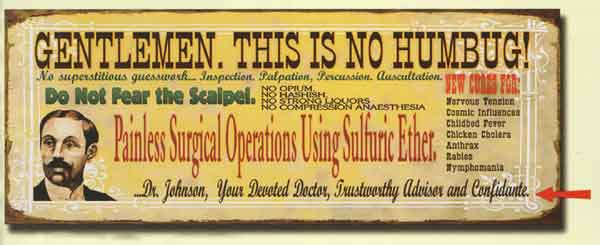 Custom Surgical Operations Sign