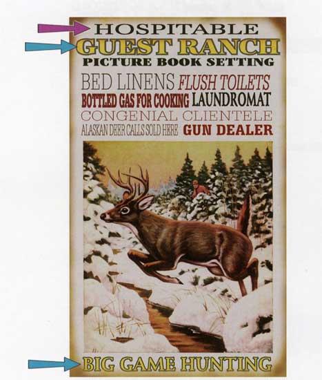 Custom Lodge/Hunting Sign