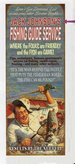 Custom Fish Guide Sign