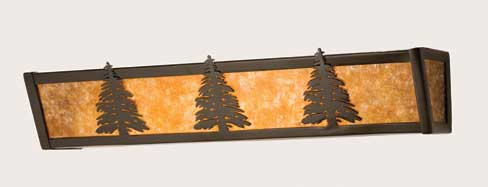 Pine Tree Vanity Light