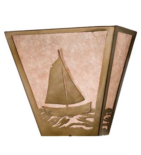 Sailboat Wall Scocnce