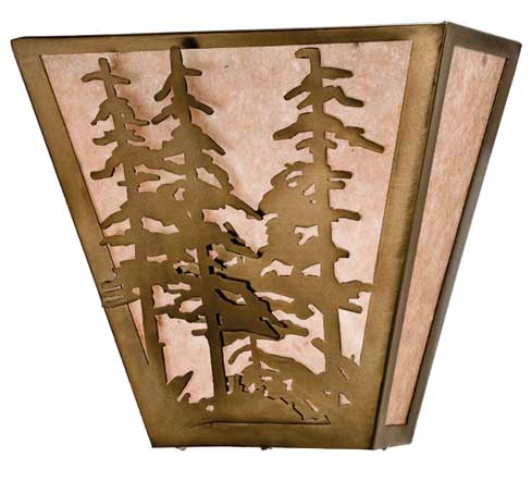 Tall Pines Wall Sconce