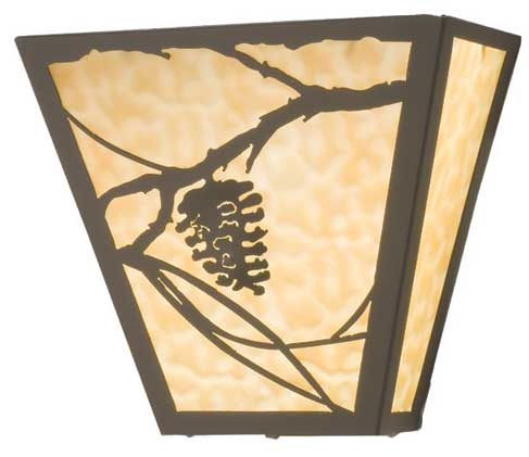 Pine Cone Wall Sconce
