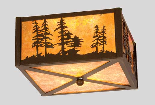 Tall Pines Flushmount Ceiling Fixture