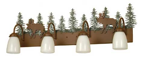 Moose Vanity Light