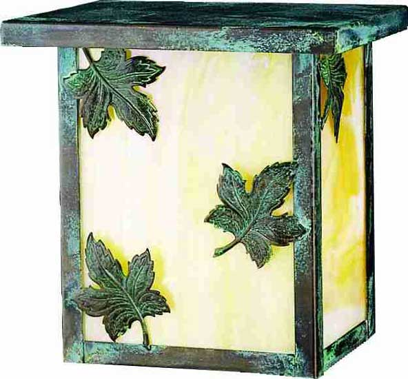 Maple Leaf Outdoor Wall Sconce