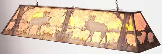 Moose Billiard/Island Light Fixture