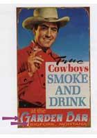 Custom Cowboy Sign