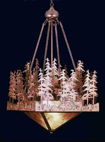 Pine Lake Inverted Pendant Light