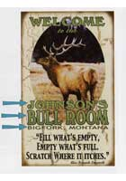 Custom Hunting Sign