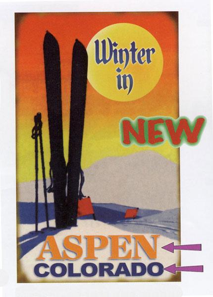Custom Winter In Sign