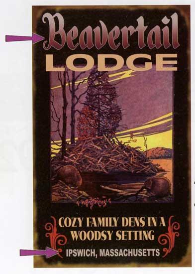 Custom Lodge Sign