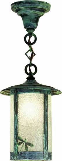 Dragonfly Outdoor Ceiling Pendant Light