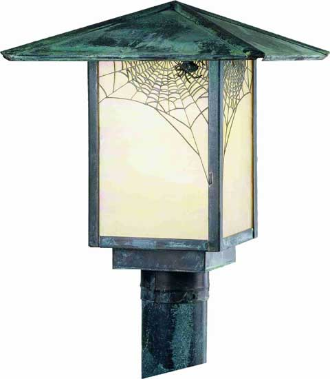 Spider Web Outdoor Post Mount