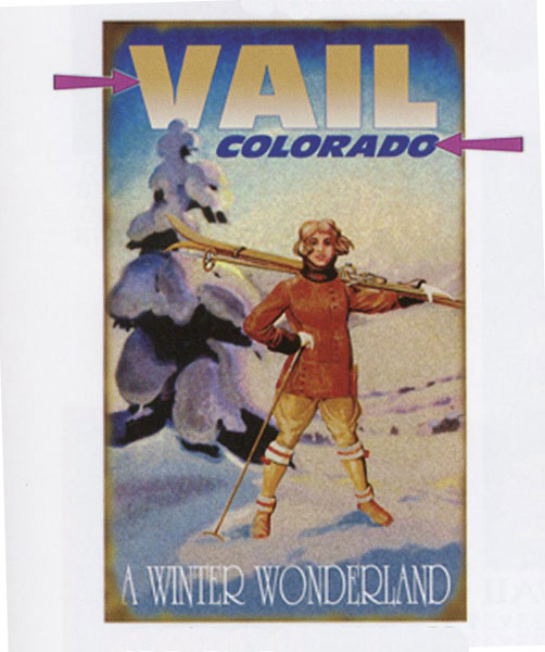 Custom Winter Wonderland Sign