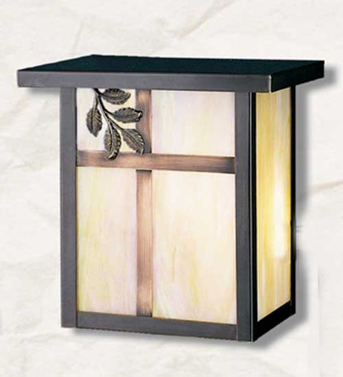 Single Branch Outdoor Wall Sconce