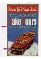 Custom Lake Tours Sign