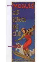 Custom Ski School Sign