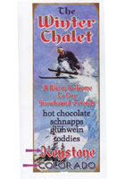 Custom Winter Chalet Sign