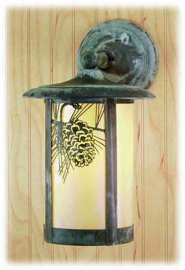 Pine Cone Outdoor Solid Mount Fixture