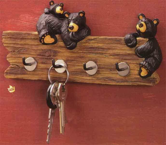Bearfoots Key Holder