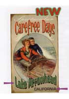 Custom Carefree Days Sign