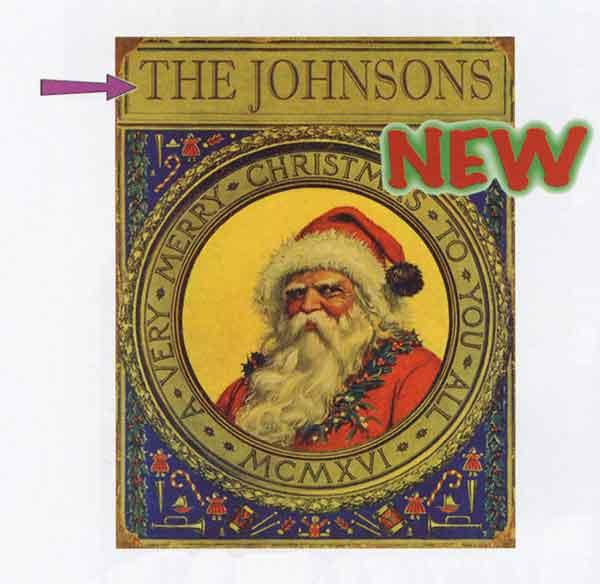 Custom Christmas Sign
