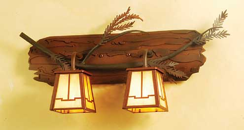 Pine Branch Vanity Light