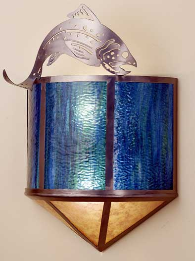 Fish Wall Sconce