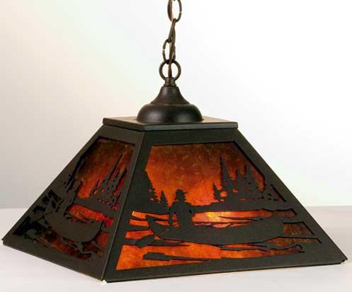Canoe Pendant Light Fixture
