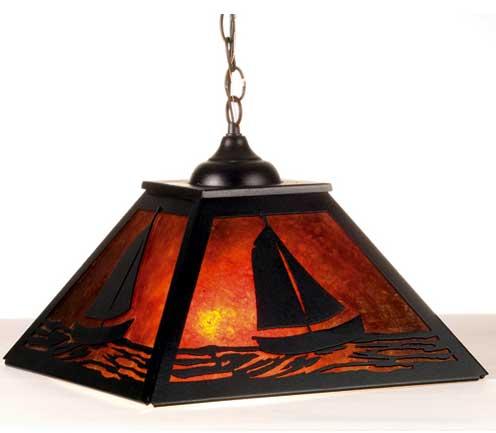 Sailboat Pendant Light Fixture