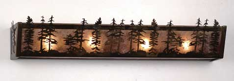 Tall Pines Vanity Light